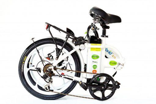 Electric 2018 City Hybrid All White E-Bike by Greenbike