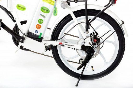 2018 City Hybrid All White Power Bike