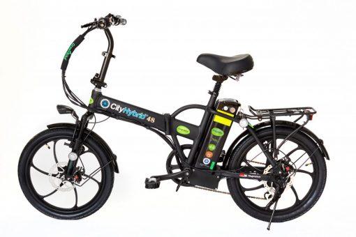 GreenBike 2018 City Hybrid All Black