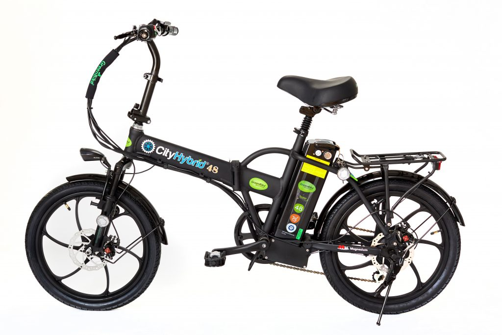GreenBike 2018 City Hybrid All Black