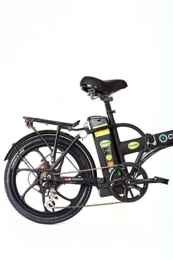 GreenBike 2018 City Hybrid All Black E-Bike