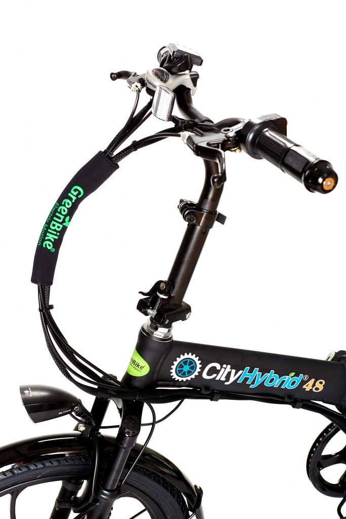 GreenBike City Hybrid Folding E Bike