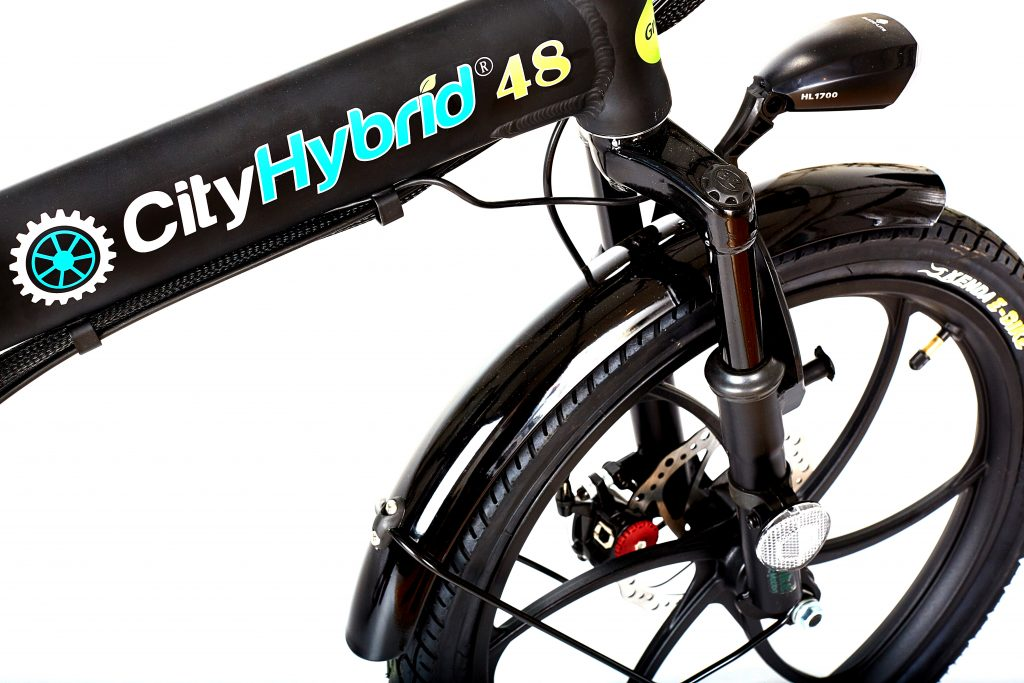 2018 City Hybrid 48 All Black E-Bike