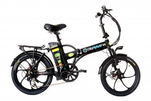 Best E-Bike 2018 City Hybrid All Black Electric Bike