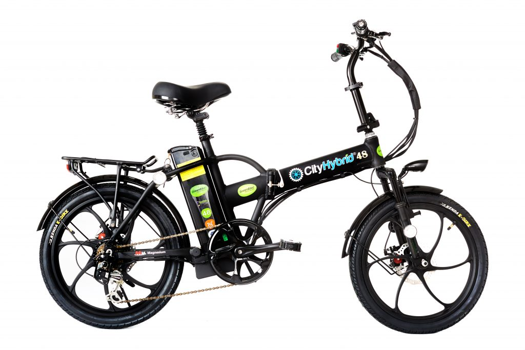 Best E-Bike 2018 City Hybrid All Black Electric Bike