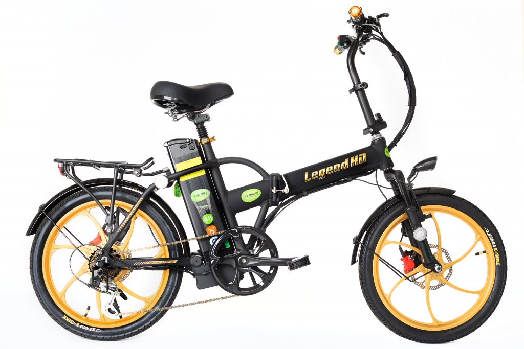 GreenBike folding e bike legend hd