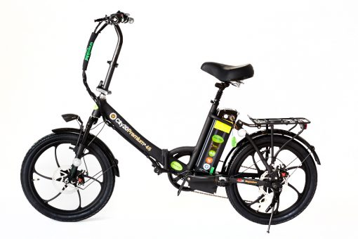 2018 City Premium All Black E bike Greenbike