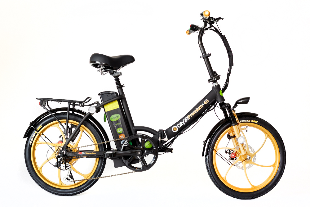 2018 City Premium Black and Gold E-Bike