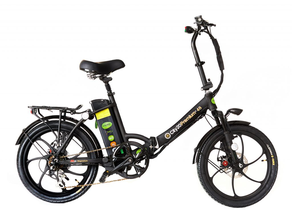 greenbike city premium folding e bike