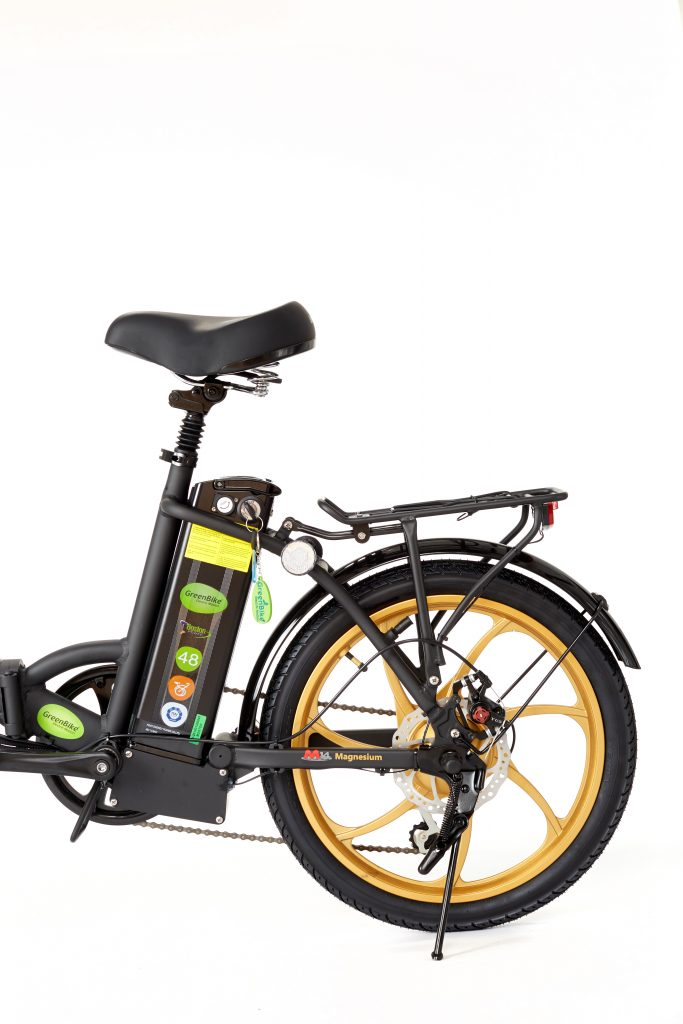 2018 City Premium Black and Gold Electric Bike