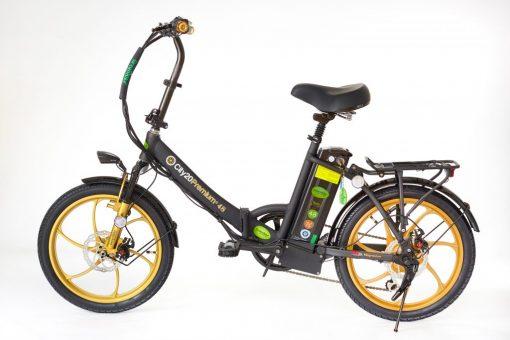 Best 2018 City Premium Black and Gold E-Bike