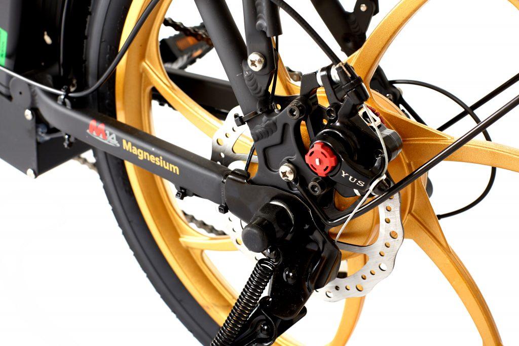 2018 City Premium Black and Gold E-Bike powerbike