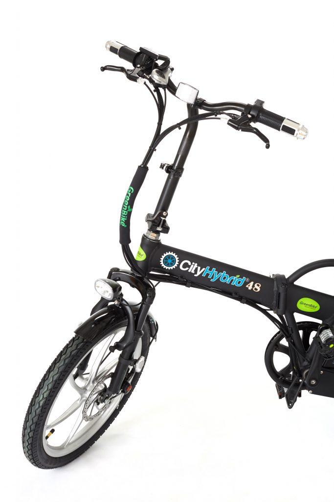 Beautiful 2018 City Hybrid Black and Silver e Bike