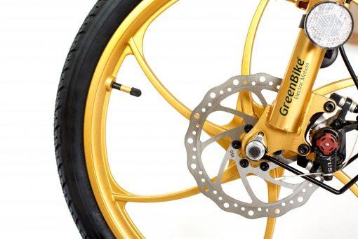 2018 City Hybrid Black and Gold Wheel