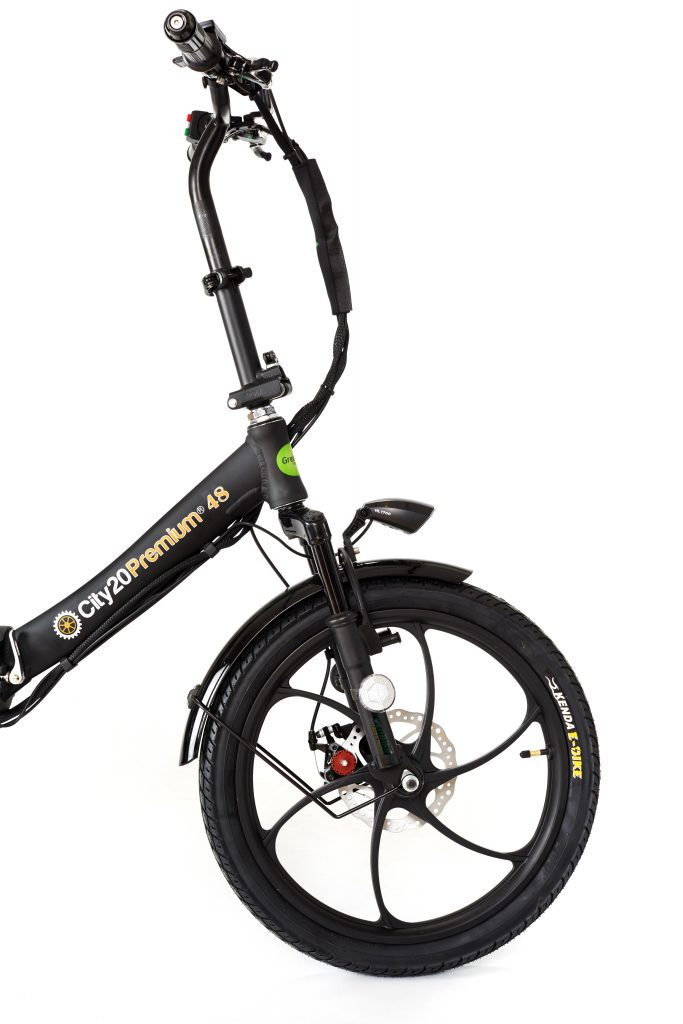 2018 City Premium All Black E bike