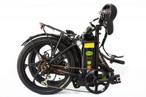 Best 2018 City Premium All Black E bike