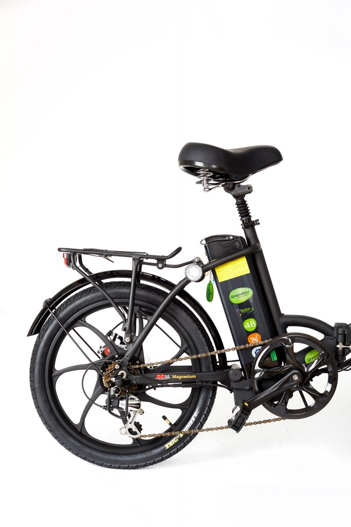 2018 City Premium All Black Electric bike