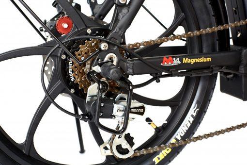 2018 City Premium All Black Ebike wheel
