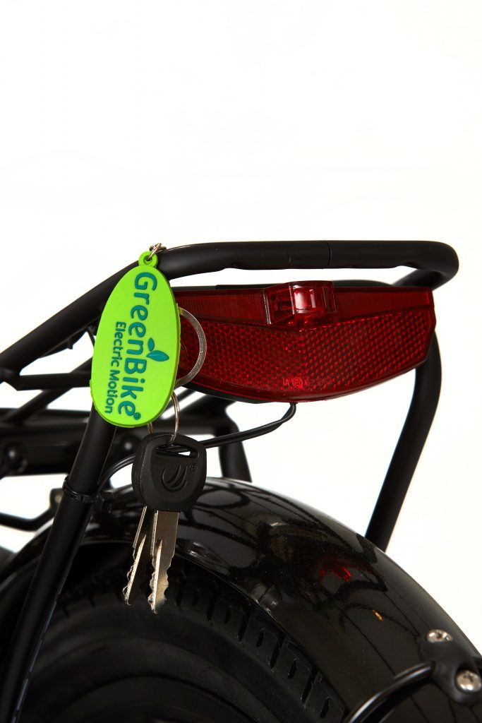 Greenbike Electric Motion key Chain