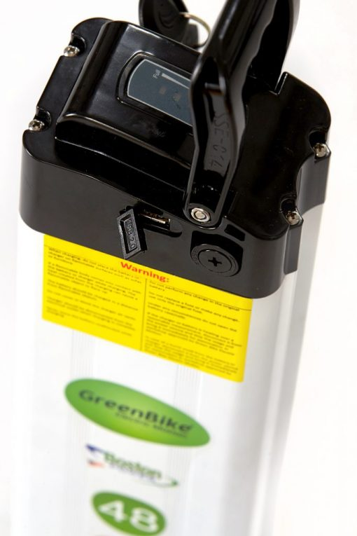 48 Lithium Ion Battery Greenbike Electric Motion